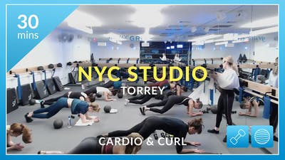NYC Studio: Cardio & Curl with Torrey March 1st by Physique 57