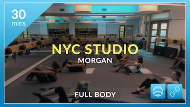 NYC Studio: Full Body with Morgan August 16th by Physique 57