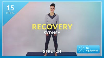 Recovery with Sydney by Physique 57