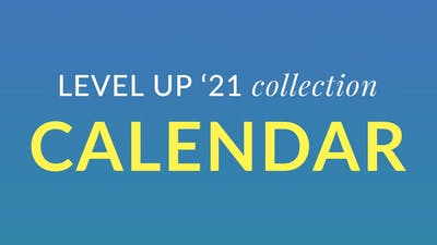 Level Up '21 Calendar by Physique 57