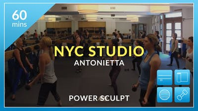 NYC Studio: Power Sculpt with Antonietta May 31st by Physique 57
