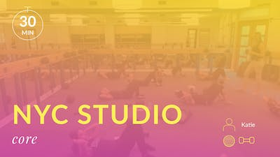 NYC Studio: Arms and Abs with Katie August 20th by Physique 57