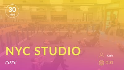 NYC Studio: Core with Katie August 20th by Physique 57