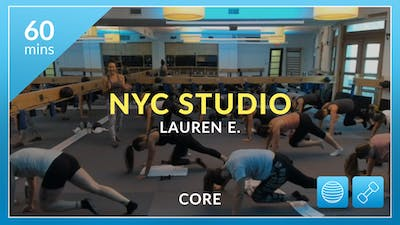 NYC Studio: Core with Lauren July 23rd by Physique 57