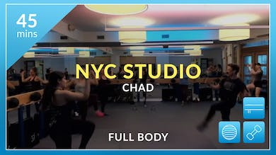 NYC Studio: Express with Chad October 16th by Physique 57