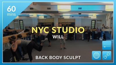 NYC Studio: Back Body Sculpt with Will August 15th by Physique 57