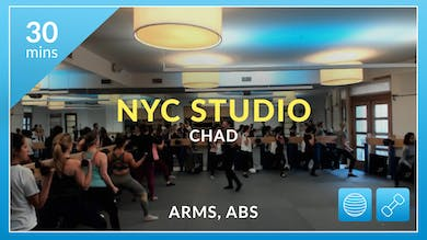 NYC Studio: Arms and Abs with Chad December 11th by Physique 57