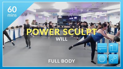 NYC Studio: Power Sculpt with Will March 1st by Physique 57