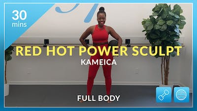 Power Sculpt: Red Hot with Kameica by Physique 57