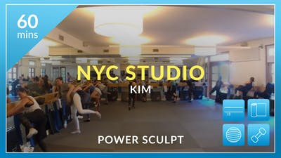 NYC Studio: Power Sculpt with Kim June 11th by Physique 57