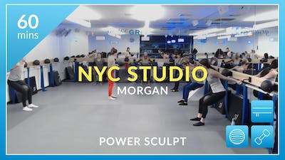 NYC: Power Sculpt with Morgan January 24th by Physique 57