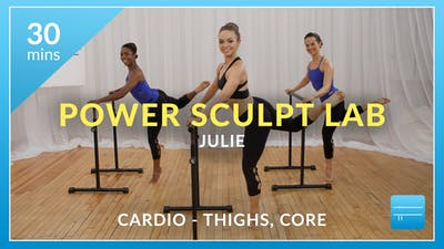 Power Sculpt Lab: Cardio Burn with Julie (Thighs and Abs) by Physique 57