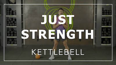 Just Strength with CSM | Kettlebell by Fhitting Room