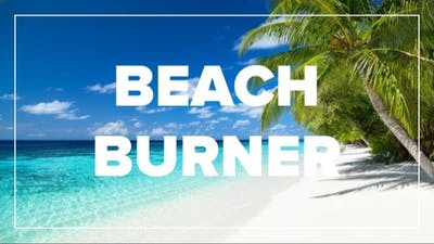 BEACH BURNER by Fhitting Room
