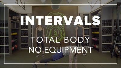 Intervals with Daury | Total Body No Equipment by Fhitting Room