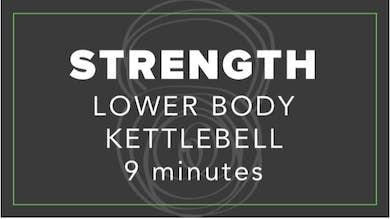 Strength | Lower Body Kettlebell | 9 Minutes by Fhitting Room