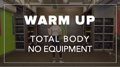 Warm Up with Brooke | Total Body No Equipment by Fhitting Room