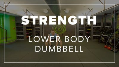 Strength with Ben | Lower Body Dumbbells by Fhitting Room