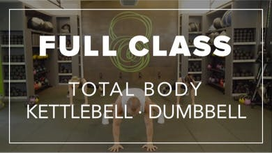 Full Class with Eric | Total Body Kettlebell · Dumbbell by Fhitting Room