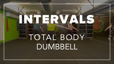 Intervals with Kendall | Total Body Dumbbell by Fhitting Room