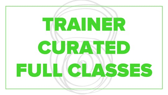 Trainer Curated Full Classes by Fhitting Room