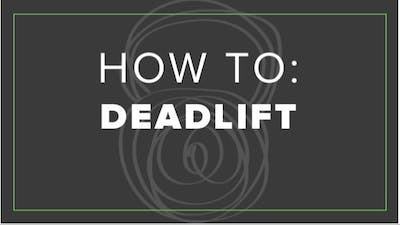 How To: Deadlift by Fhitting Room