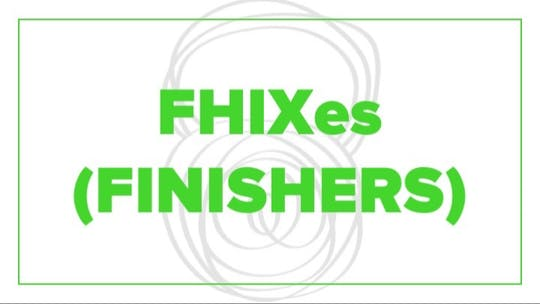 FHIXes (Finishers) by Fhitting Room