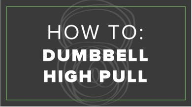 How To: Dumbbell High Pull by Fhitting Room