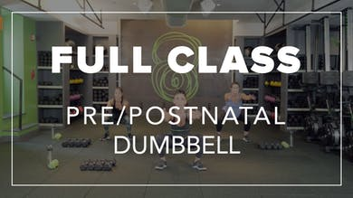 Pre/Postnatal Class with Renee | Total Body Dumbbell by Fhitting Room