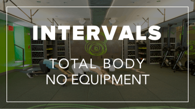 Intervals with Rich | Total Body No Equipment by Fhitting Room