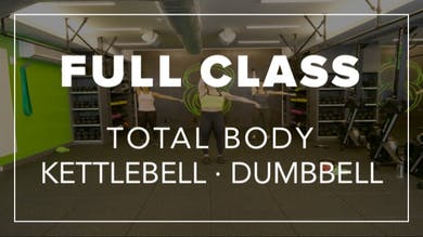 Full Class with Mel | Total Body Kettlebell · Dumbbell by Fhitting Room