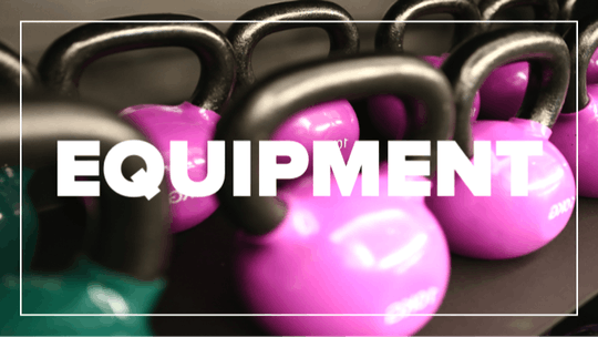 Equipment by Fhitting Room