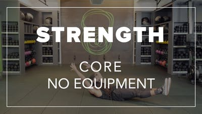 Strength Core with Carlos | Core No Equipment by Fhitting Room