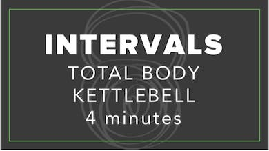 Intervals | Total Body Kettlebell | 4 Minutes by Fhitting Room