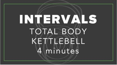 Interval | Total Body Kettlebell | 4 Minutes by Fhitting Room