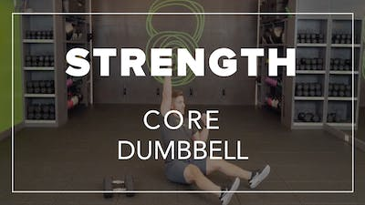 Strength Core with Andrew | Core Dumbbell by Fhitting Room