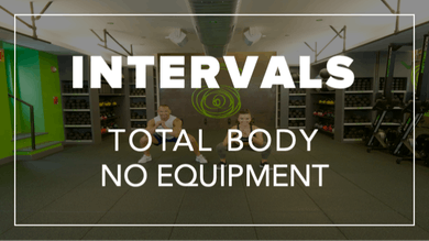 Intervals with Eric + Riley | Total Body No Equipment by Fhitting Room