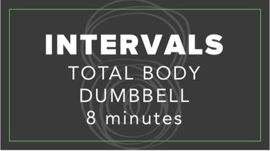 Interval | Total Body Dumbbell | 8 Minutes by Fhitting Room
