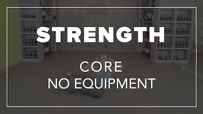 Strength Core with Mel | Core No Equipment by Fhitting Room