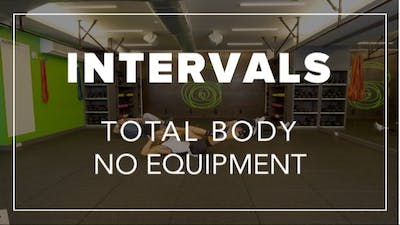 Intervals with Jason | Total Body No Equipment by Fhitting Room