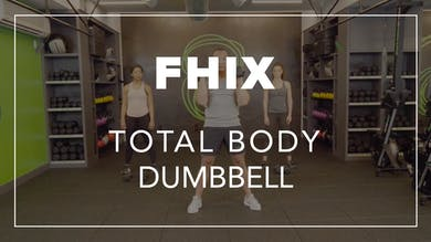 FHIX (Finisher) with Eric | Total Body Dumbbell by Fhitting Room