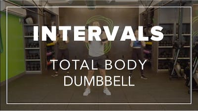 Intervals with Eric | Total Body Dumbbell by Fhitting Room