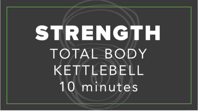Strength | Total Body Kettlebell | 10 Minutes by Fhitting Room