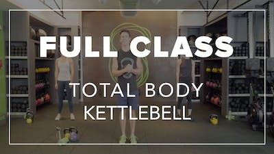 Full Class with Garen | Total Body Kettlebell by Fhitting Room