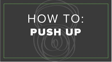 How To: Push Up by Fhitting Room