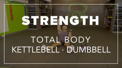 Strength with BLD | Total Body Kettlebell · Dumbbell by Fhitting Room