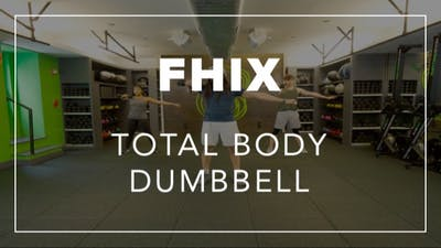 FHIX (Finisher) with Carlos | Total Body Dumbbell by Fhitting Room
