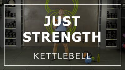 Just Strength with Eric | Kettlebell by Fhitting Room