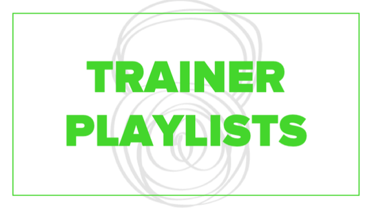 Trainer Playlists by Fhitting Room