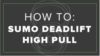 How To: Sumo Deadlift High Pull by Fhitting Room